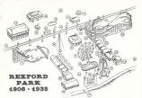 Composite map of Rexford Park amusement park, 1906-1935