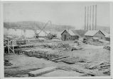 Construction at Lock Seven, Erie Canal (view 3)