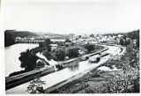 Erie Canal, Lock 21, and Rexford Flats, about 1898