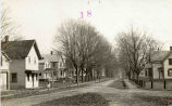 Riverview Road looking east, Vischer Ferry, NY c. 1910 (view 1)