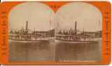 Steamer Ganouskie--Lake George