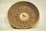 Pine Needle Basket with Pottery Insert