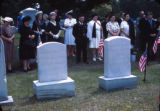Memorial Day ceremony at Bay Street Cemetery