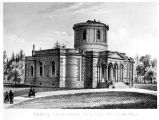 Lithograph of Original Dudley Observatory