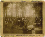 1894 Farmers Day Picnic at Green Lake - Looking toward the lake