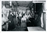Stickley furniture factory workers