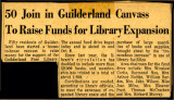 50 join in Guilderland canvass to raise funds for library expansion