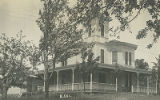 Postcard of Carpenter House in Clarksville NY