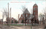 Catholic Church and Parsonage, Greenwich, N.Y.
