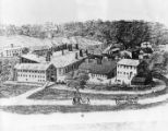 Drawing of the Williams Farm