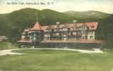 AuSable Clubhouse, Adirondack Mountains, NY  (postcard) (AuSable Club Album)