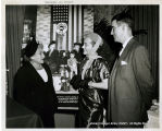 Gloria Swanson helps Travelers Aid Society's 1951 campaign