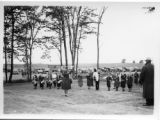 Children's drum and bugle corps at Carpenter's Brook dedication