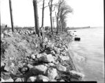 Looking south along Onondaga Lake shoreline