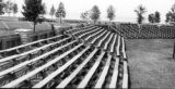 Griffin Field: Temporarily finished bleachers, Onondaga Lake