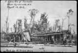 Geddes - Postcard: Results of Tornado Near Syracuse, N.Y. Sept. 15, 1912. 1 of 8