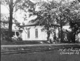 Methodist Church and Parsonage - Oswego Street - Liverpool, NY