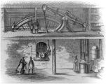 Engraving of interior of Salina Pumphouse