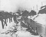 Salt workers homes in Geddes