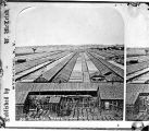 Solar salt works in Geddes, right half of stereograph