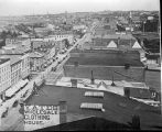Roof-top view, looking up North Salina Street