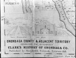 Corner of fold-out map showing Onondaga Salt Reservation