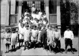 Onondaga Nation: School children, younger group