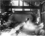 Interior view of Geddes, NY salt boiling block