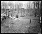 Workmen at picnic grounds, Highland Forest