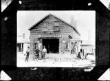 J.A. Murray's Blacksmith shop on Lodi Street