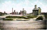 Colorized Post Card: Syracuse, N.Y., Salt Wells