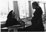 Sister Mary Mechtilde Norton and student