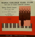 1967 Spring Choral Festival - a view of cover and LP