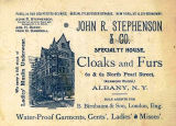 J. R. Stephenson & Co. Fur Department
