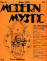 Index of Modern Mystic 1937-1939 Anthroposophical Articles Only
