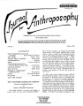 Journal for Anthroposophy 1968 no. 7 Spring