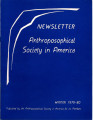 Anthroposophical Society in America Newsletter 1979-80 Winter