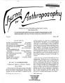 Journal for Anthroposophy 1967 no. 5 Spring