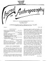 Journal for Anthroposophy 1965 no. 1 Spring