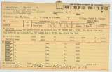 Enlistment Card for Charles H McCullough, 15th NY National Guard in 1936