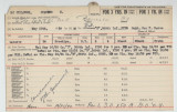 Enlistment Card for Charles H McCullough, 15th NY National Guard in 1939
