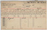 Enlistment Card for Al M Ackerman, 15th NY National Guard in 1939