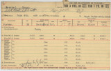 Enlistment Card for [S Henry] Battle (Battles?), 15th NY National Guard in 1928