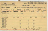 Enlistment Card for Adam Bowie, 15th NY National Guard in 1936