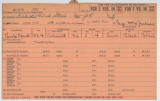 Enlistment Card for John H Braxton, 15th NY National Guard in 1924