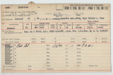 Enlistment Card for Gladstone A Dale, 15th NY National Guard in 1940