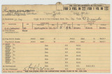 Enlistment Card for Acius Charles Davis, 15th NY National Guard in 1928