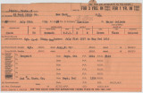 Enlistment Card for Henty T Edness, 15th NY National Guard in 1924