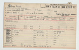 Enlistment Card for Elwood Galon, 15th NY National Guard in 1941