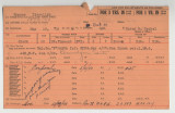 Enlistment Card for Llewellyn Gipson, 15th NY National Guard in 1938
